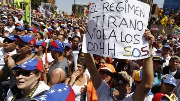 EE UU sancionará a los venezolanos que violen DD HH