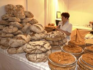 Una panadería.