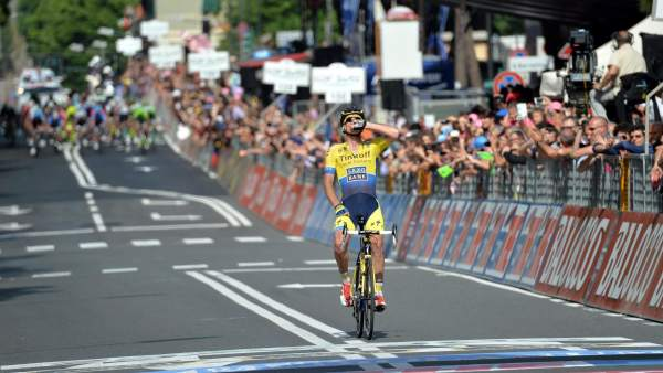 Michael Rogers gana en el Giro