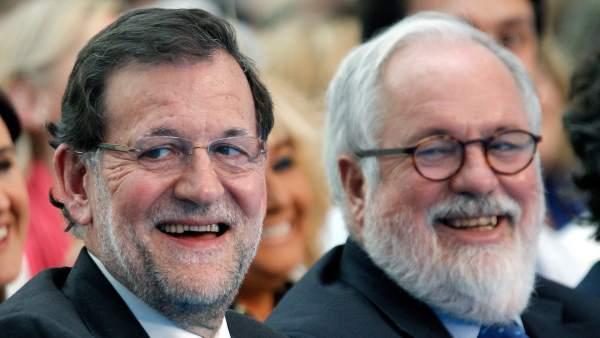 Rajoy y Cañete en Valencia