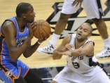Spurs contra Thunders