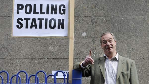 Nigel Farage, del UKIP