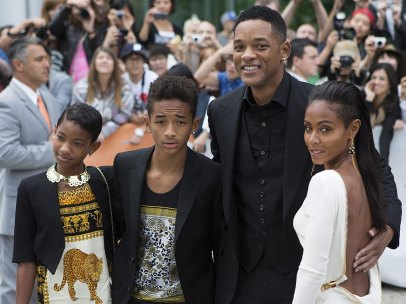 Will Smith y su familia