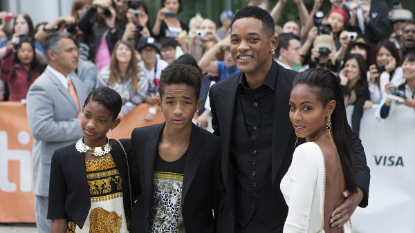 Willow y Jaden, los hijos de Will Smith, duermen con serpientes