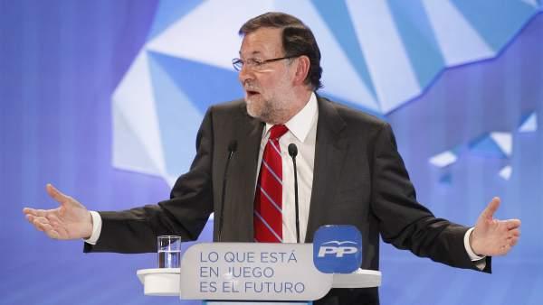 Rajoy cierra la campaña del PP