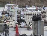 Muro de hielo en Fukushima