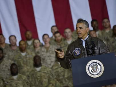 Obama visita Afganist�n