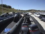 Incautada una flota de embarcaciones a una red de narcotraficantes
