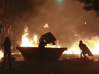 Protestas por la demolición de Can Vies