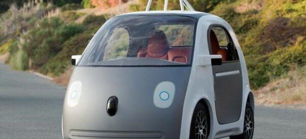 Google muestra un prototipo de coche que se conduce solo, sin volante ni pedales