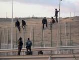 Salto de la valla en Melilla