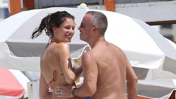 Eros Ramazzotti y Marica Pellegrinelli