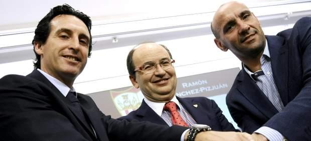 Monchi le traslada al Sevilla la intención de dejar de ser su director deportivo
