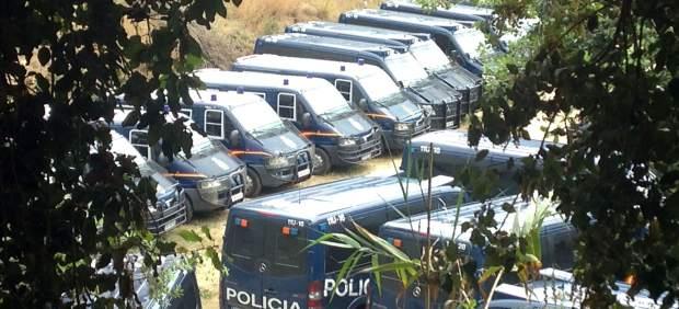 Furgonetas de la Policía