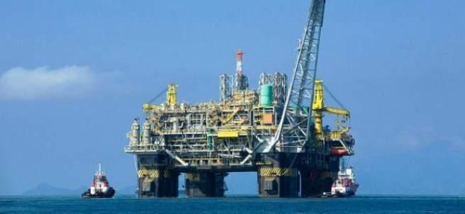 Petróleo en el mar