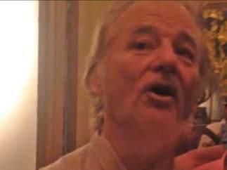 Bill Murray se cuela en una despedida de soltero