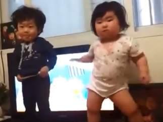 Imagen del exitoso vídeo coreano en YouTube.