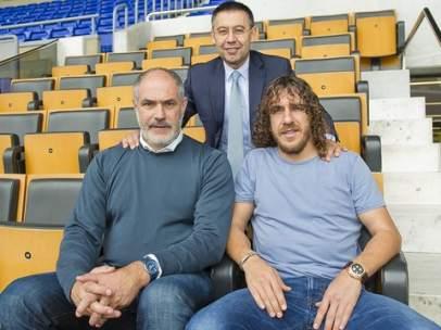 Puyol en la dirección del Barça