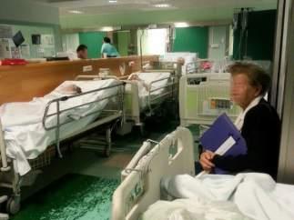 Urgencias colapsadas en el 12 de Octubre