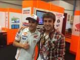 Marc Márquez y Fernando Alonso
