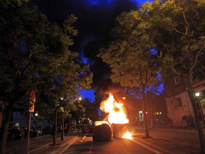 Incidentes en Barcelona
