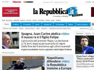 'La Repubblica'