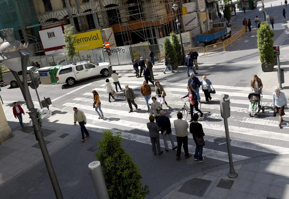 Paso de peatones 'inteligente'