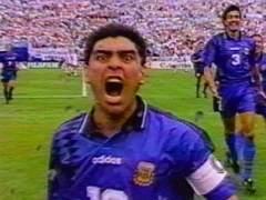 Maradona en el 94