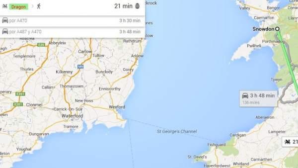 Una nueva funcin de google maps permite calcular trayectos a lomos de snowdon a brecon beacons en dragn gumiabroncs Image collections