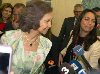 La reina Sofía, en la ONU