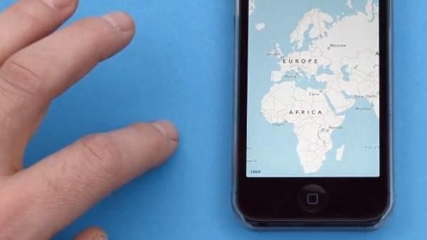 Crean una carcasa de móvil capaz de recoger movimientos fuera de la pantalla táctil