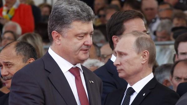 Putin y Poroshenko