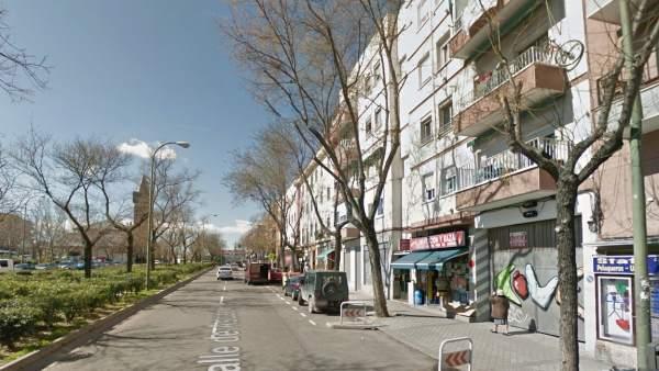 Calle Ascao en Madrid