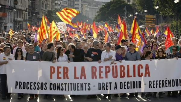 Marcha en Valencia