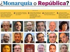 Monarquía o República, a debate