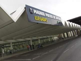 Entrada a la estación de Atocha