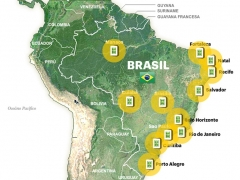 Mundial Brasil 2014: las sedes