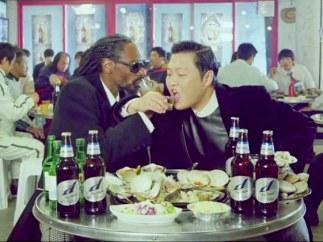 Psy y Snoop Dogg en 'Hangover'