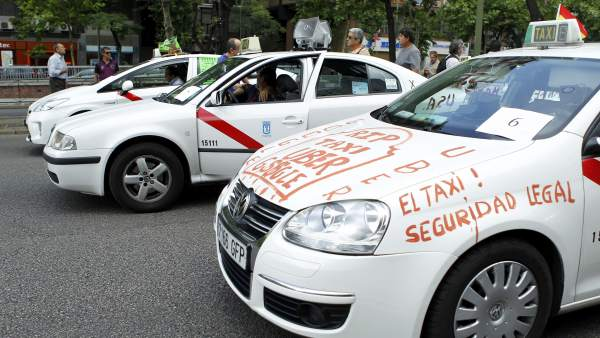 Protestas contra Uber