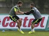 Piqué y Ramos serán los titulares