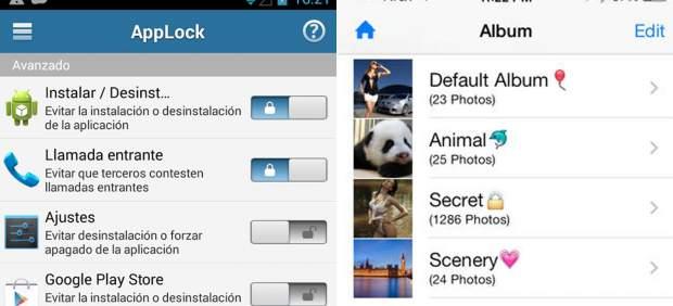 'Apps' para proteger archivos y evitar que otros vean fotos, vídeos, WhatsApp, SMS...