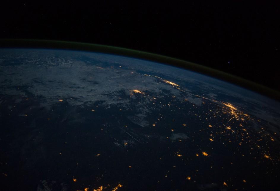 Brasil desde el espacio