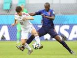 Silva y Martins Indi en el España - Holanda
