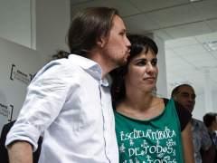Pablo Iglesias y Teresa Rodr�guez