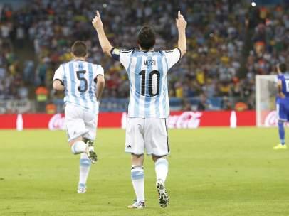Gol de Argentina