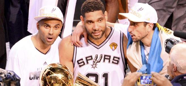 Los Spurs ganan la NBA