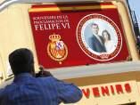 Madrid se prepara para el nuevo rey