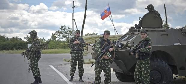 Combates en Ucrania
