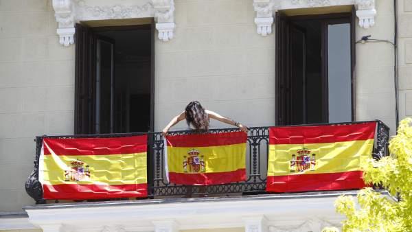 Balcones en el recorrido real