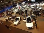 Salón del automóvil de Madrid. Estos certámenes son un termómetro de la marcha para el sector.